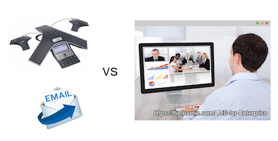Phone Conference versus Video Conference